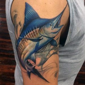 big-game-fishing-fans-mens-tattoo-with-marlin-design-on-arm-