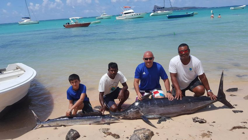 CATCH OF 29 DEC 2016 - MAURITIUS BIG GAME FISHING